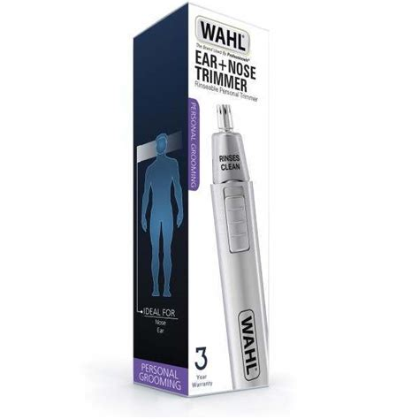 Wahl 5560-500 Personal Grooming Satin Rinseable Nose & Ear