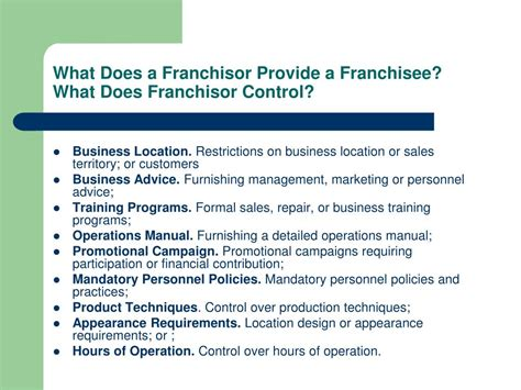 PPT - Franchise Law PowerPoint Presentation, free download