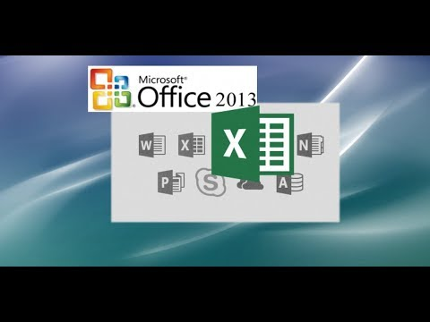 MS Excel 2011 for Mac: How to Create a Pivot Table