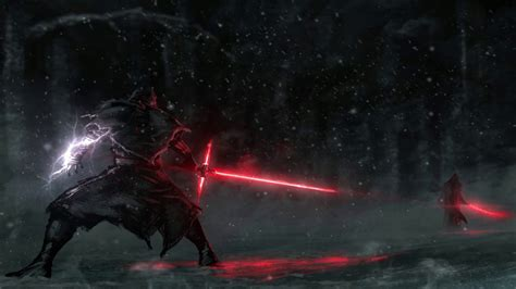 Star Wars - Siths about to fight (ANIMATED) | Wallpaper