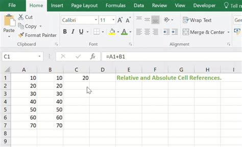 Relative and Absolute References In Excel - Formula Friday