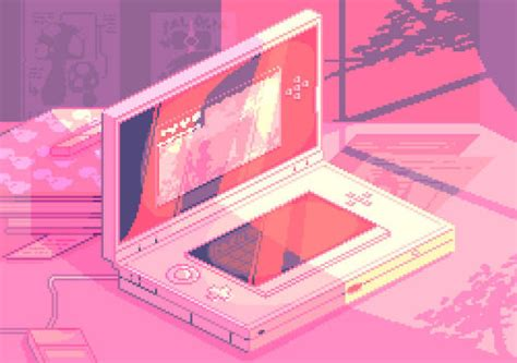 Love this 3DS pixelart ⊟ There's something