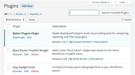 How to Compare Active WordPress Plugins Between Two Sites