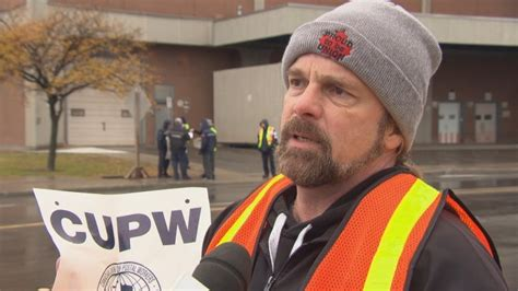 Ian Anderson, president of the Ottawa local of CUPW, said