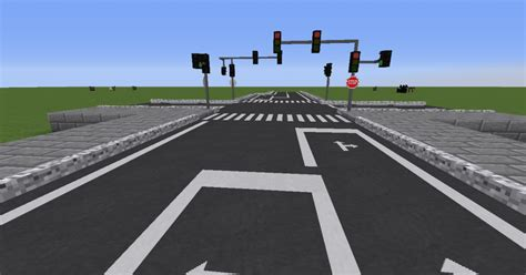 Road Mod for Minecraft 1