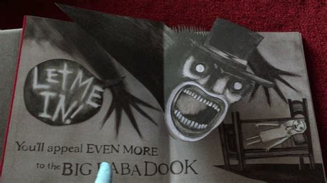 """The Babadook """"Mister Babadook"""" Official Pop-Up Book"""