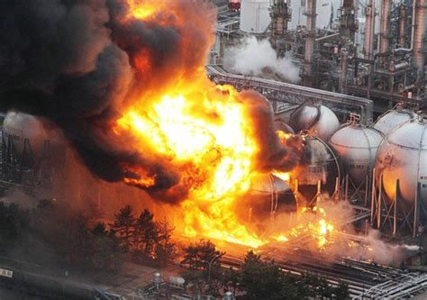 3 Causes of Industrial Fire and Gas Explosions | Opus Kinetic