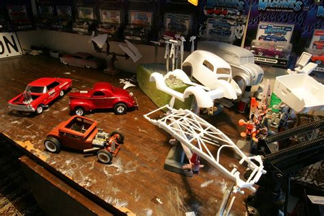 Bruce Swallow's hot rod and street machine 1/25 scale models