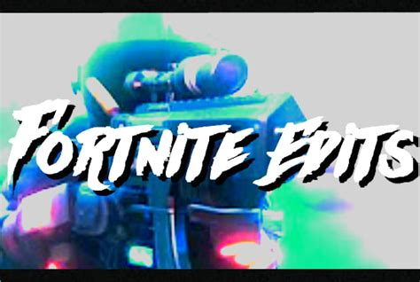 Experienced editor will edit a fortnite video for you