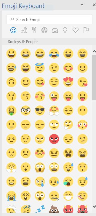 How to add a full set of free emojis to Microsoft Word