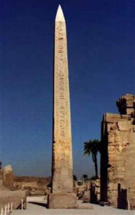 The Temple of Amun at Karnak: The Obelisk Court of