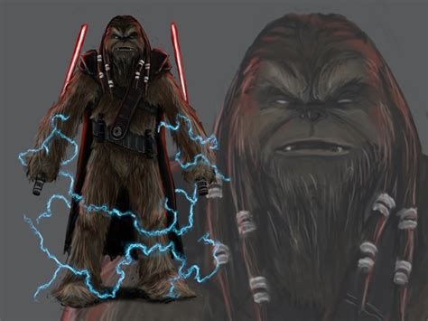 Character Design Sith Wookie by Alex LaShomb on Dribbble