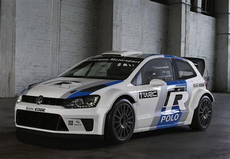 2013 Volkswagen Polo R WRC rally car unveiled at Frankfurt