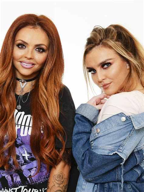 Little Mix's Jesy Nelson and Perrie Edwards address THOSE