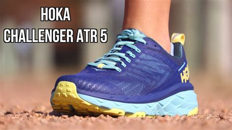 HOKA ONE ONE CHALLENGER ATR 5 REVIEW   BOTH TRAIL and ROAD