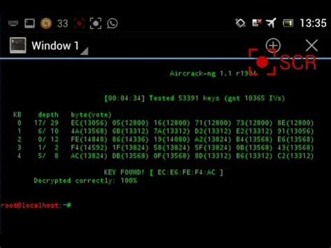 Working Aircrack-ng/reaver on Android using Wireless USB