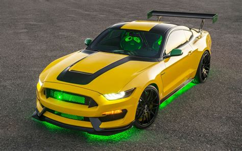 2016 Ford Shelby GT350 Mustang Ole Yeller Wallpapers | HD