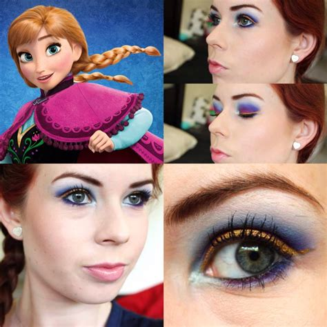 Makeup Inspired by Anna from Frozen | Meganyvemarie