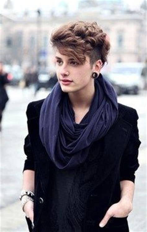 undercut hairstyle for wavy hair tomboy   tomboy outfits