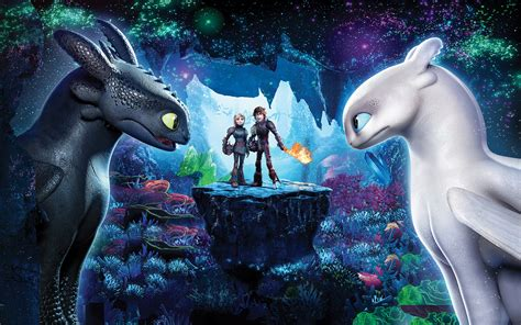 Wallpaper How to Train Your Dragon: The Hidden World