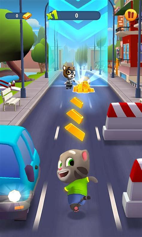Talking Tom Gold Run for Android - Free download and