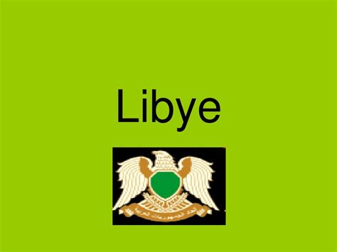 PPT - Libye PowerPoint Presentation, free download - ID